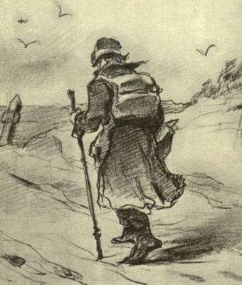 Vasily Grigorievich Perov. Traveler