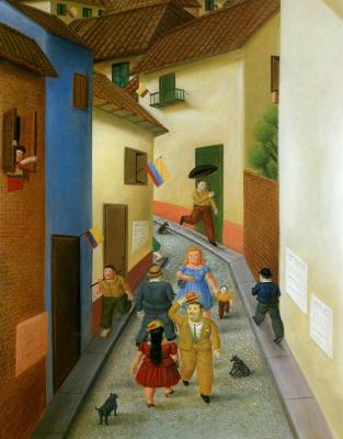 Fernando Botero. The outside
