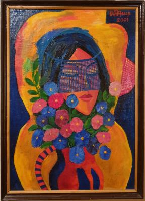 Robert Patwakanovich Gyulazyan. Woman in a veil