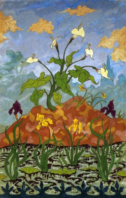 Paul Ranson. Lilies and irises