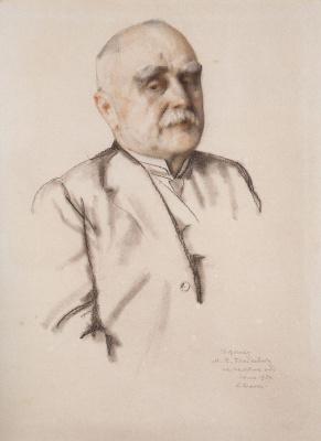 Константин Андреевич Сомов. Портрет М. Брайкевича