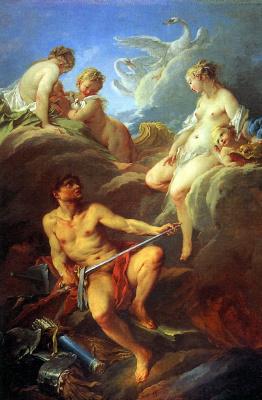 Франсуа Буше. Венера, просящая у Вулкана оружие для Энея
