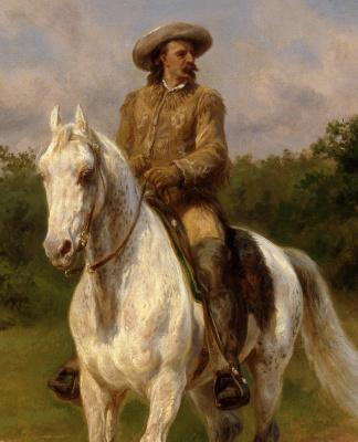 Роза Бонёр. Полковник Уильям Ф. Коди (Буффало Билл). Фрагмент