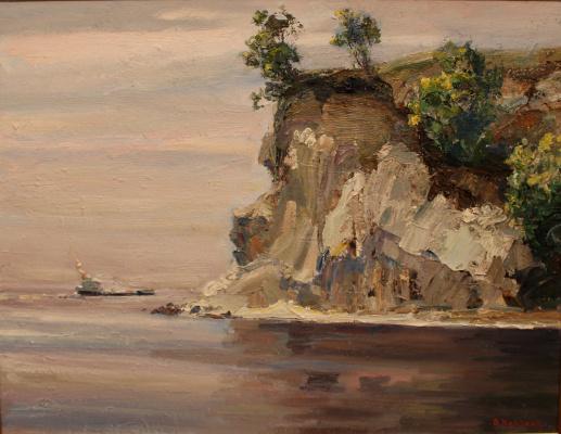 Victor Tikhonovich Karjakin. Volzhsky cliff