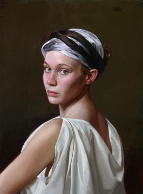 Уильям Уитакер. Молодая женщина