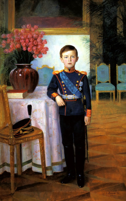 Sergey Egornov. Tsarevich Alexei Nikolaevich