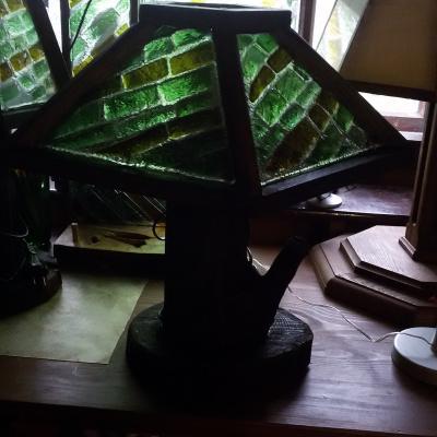 Igor Yurevich Drozhdin. Lamp Emerald tree