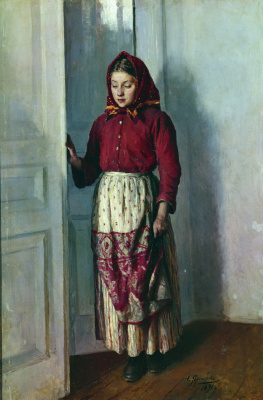 Nikolay Aleksandrovich Yaroshenko. The girl-woman. 1891