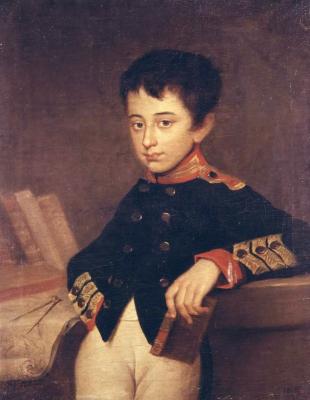 Alexander Grigorievich Varnek. Portrait of A. Yakovlev's page.