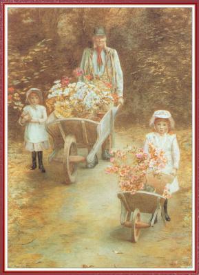 Мэри Хауллар. Молодые садовники