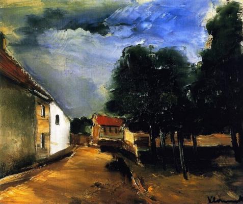Maurice de Vlaminck. Landscape at Auvers
