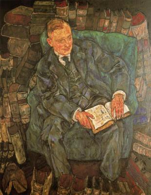 Эгон Шиле. Джентльмен с книгой
