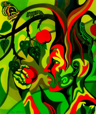 Nina Tokhtaman Valetova. Eve And The Tree Of Knowledge