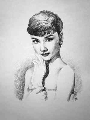 Maria Alexandrovna Chernova. Audrey Hepburn