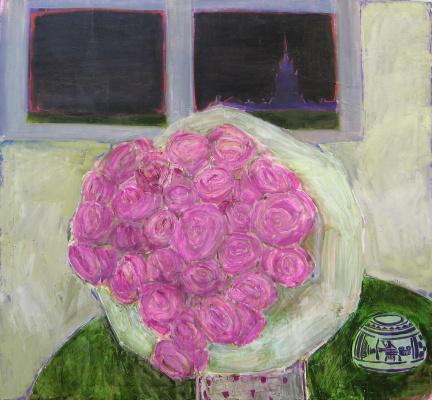 Julia Mikhailovna Malinina. Roses