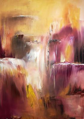 Mayan. Waterfall