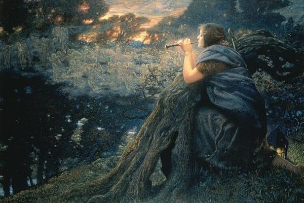 Edward Robert Hughes. Twilight fantasies