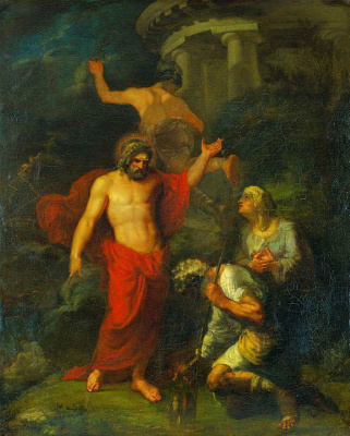 Орест Адамович Кипренский. Юпитер и Меркурий, посещающие в виде странников Филимона и Бавкиду
