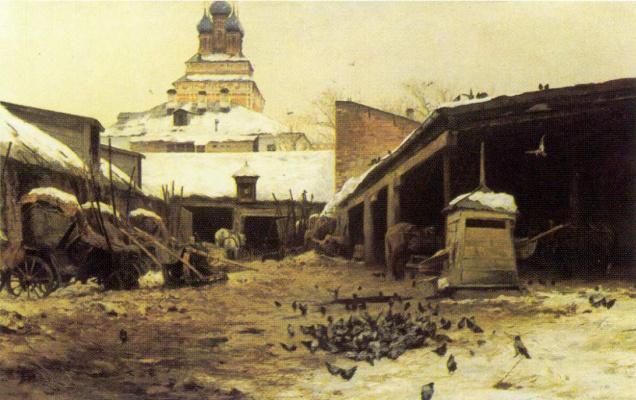 Сергей Иванович Светославский. Постоялый двор в Москве