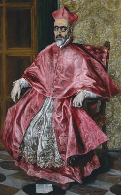 Domenico Theotokopoulos (El Greco). Cardinal Fernando niño de Guevara