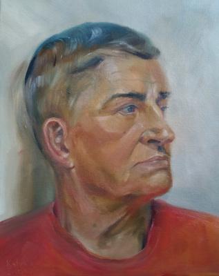 Екатерина Владиславовна Ивлева. Portrait of my stepfather