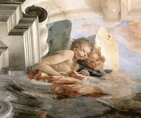 Giovanni Battista Tiepolo. Wind. Fragment