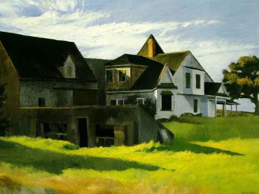 Edward Hopper. Evening in Cape cod