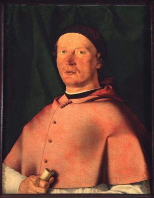 Лоренцо Лотто. Портрет епископа Бернардо де Росси