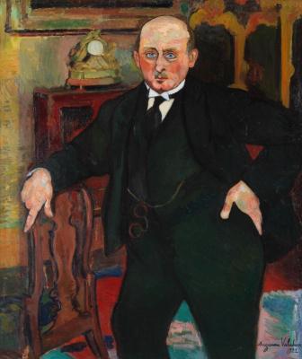 Сюзанна Валадон. Портрет Чарльза Уэйкфилда-Мори