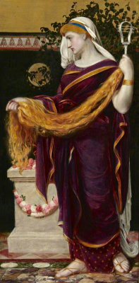 Anthony Frederick Augustus Sandys. Berenice, Queen of Egypt