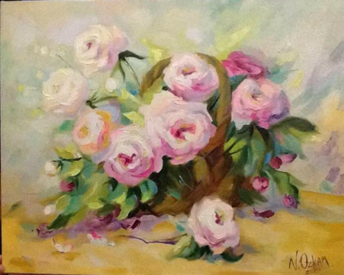 "Viktoriya. ""Marshmallow Roses"""
