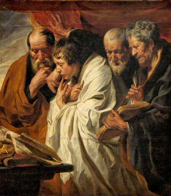 Jacob Jordaens. Four evangelists