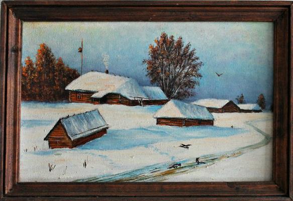 Eugene Arkhipovich Pinchugov. Winter