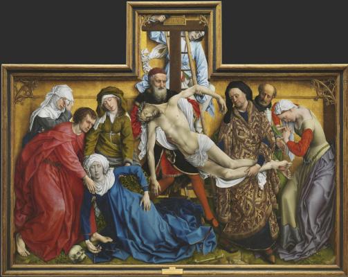 Рогир ван дер Вейден. Снятие с креста