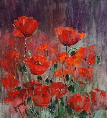 Nina Panyukova. Scarlet poppies
