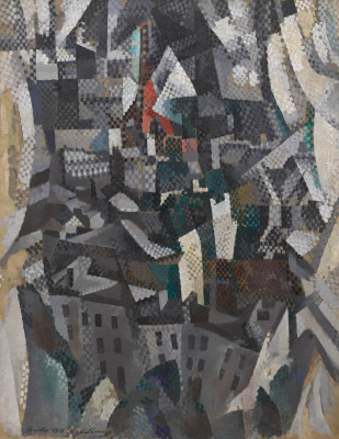 Robert Delaunay. The city