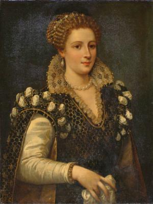 Agnolo Bronzino. A portrait purported to be Eleanor of Toledo