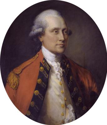 Thomas Gainsborough. Portrait of John Campbell, 5th Duke of Argyll