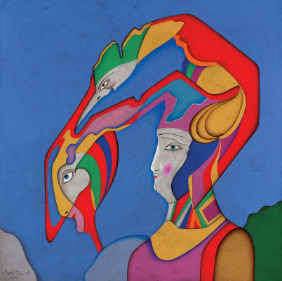 Michael Shemyakin. Metaphysical head XVIII. 1976-1988