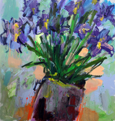 Ilya Pavlovich Spichenkov. Irises