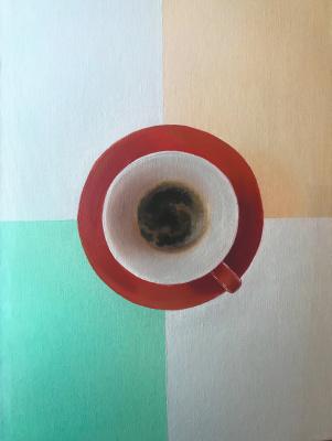 Anastasia Oraina. Coffee