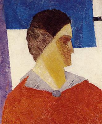 Alexey Vasilyevich Grishchenko. Portrait of the artist's wife