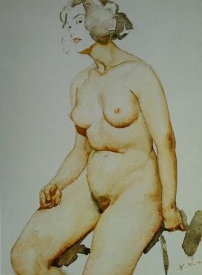 "Konstantin Fedorovich Yuon. ""Body"" 1923"