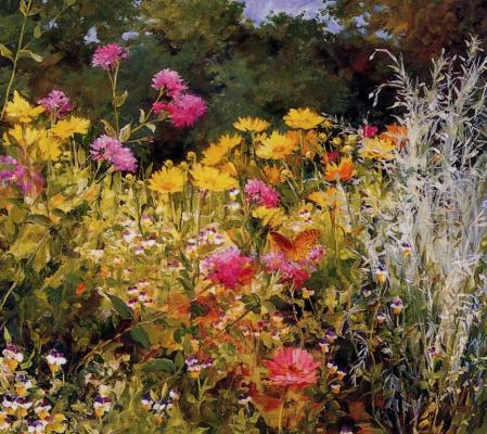 Кэти Андерсон. Полевые цветы и бабочки