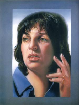 Одри Флэк. Автопортрет