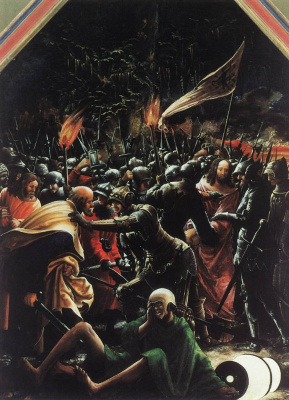 Денис Ван Алслут. Арест Христа