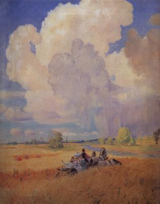 Boris Mikhailovich Kustodiev. Summer