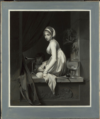 Louis-Leopold Boi. A Girl at a Window