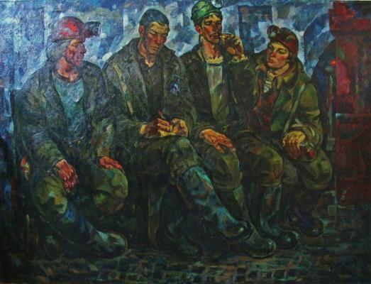 Ivan Ivanovich Filichev. Miners team