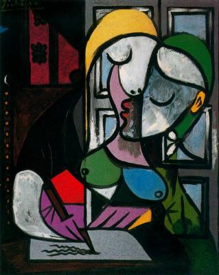Пабло Пикассо. Пишущая женщина